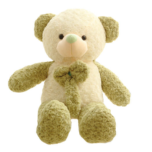 E-packet Dropshipping Stuffed Teddy Bear Plush Toy Green Teddy Bear