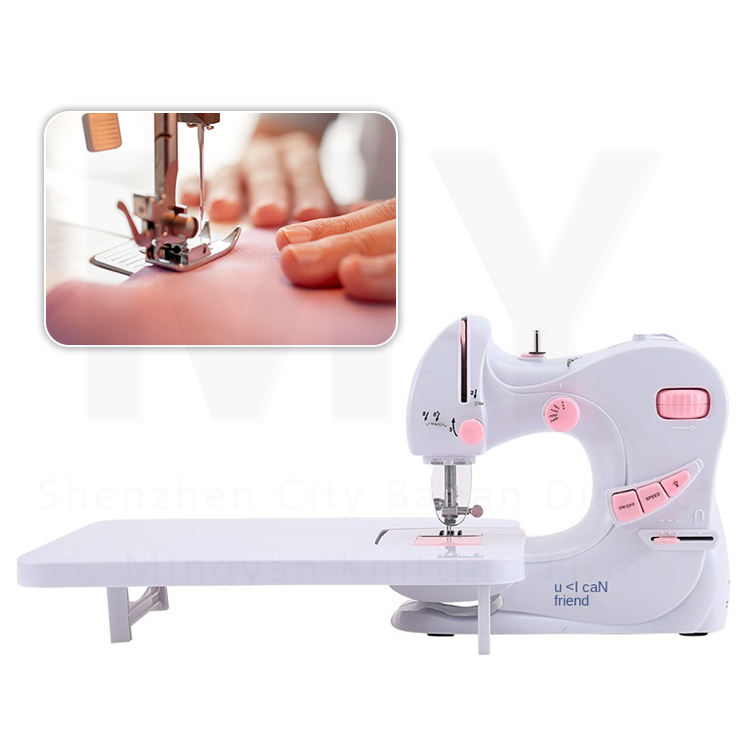Hot sell cheap price mutli-function domestic household mini sewing machine/Sewing Machine Portable Electric Sewing Machines