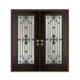 New style door design stained decorative glass
