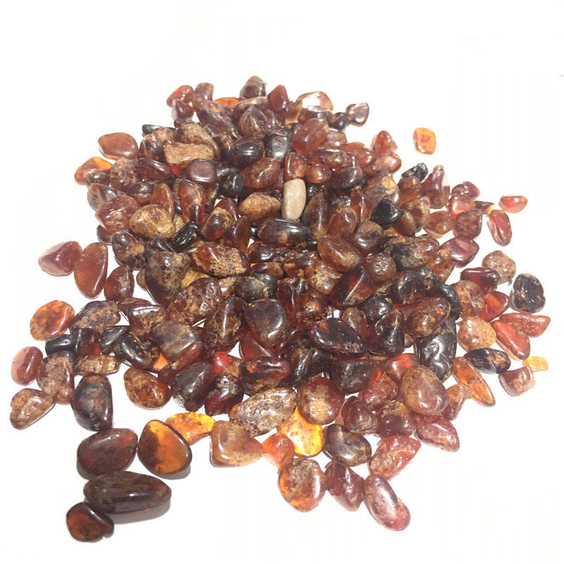 Orange Garnet Tumbled Chips Crushed Stone Healing Reiki Crystal Degaussing Stone Jewelry Making Home Decoration