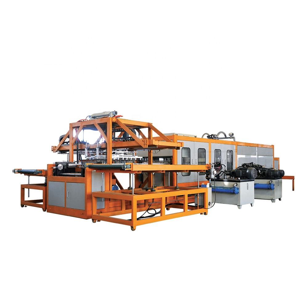 Reliable factory containers ce approved disposable plastic food container machine