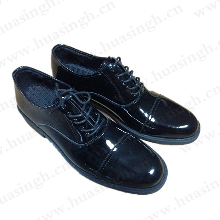 TX,Elegant gentleman style shining leather banquette dress shoes long time stand comfortable military officer shoes HSA029