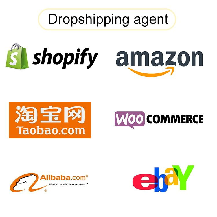 Support custom logo private label different product dropshipping agent from china
