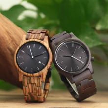 High Quality Quartz Movt Wrist Watch Wood Holz uhr Low MOQ Best Sell Gift Reloj de pulsera For Him