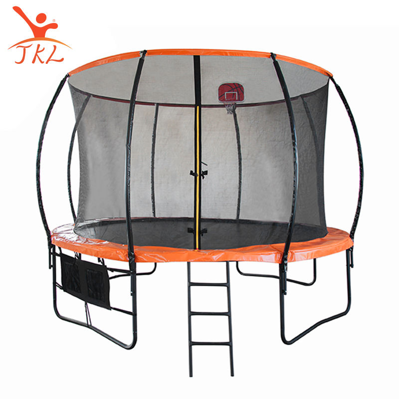 Hot Size 12FT Large Round Cheap kids Trampoline With Safety Enclosure Net