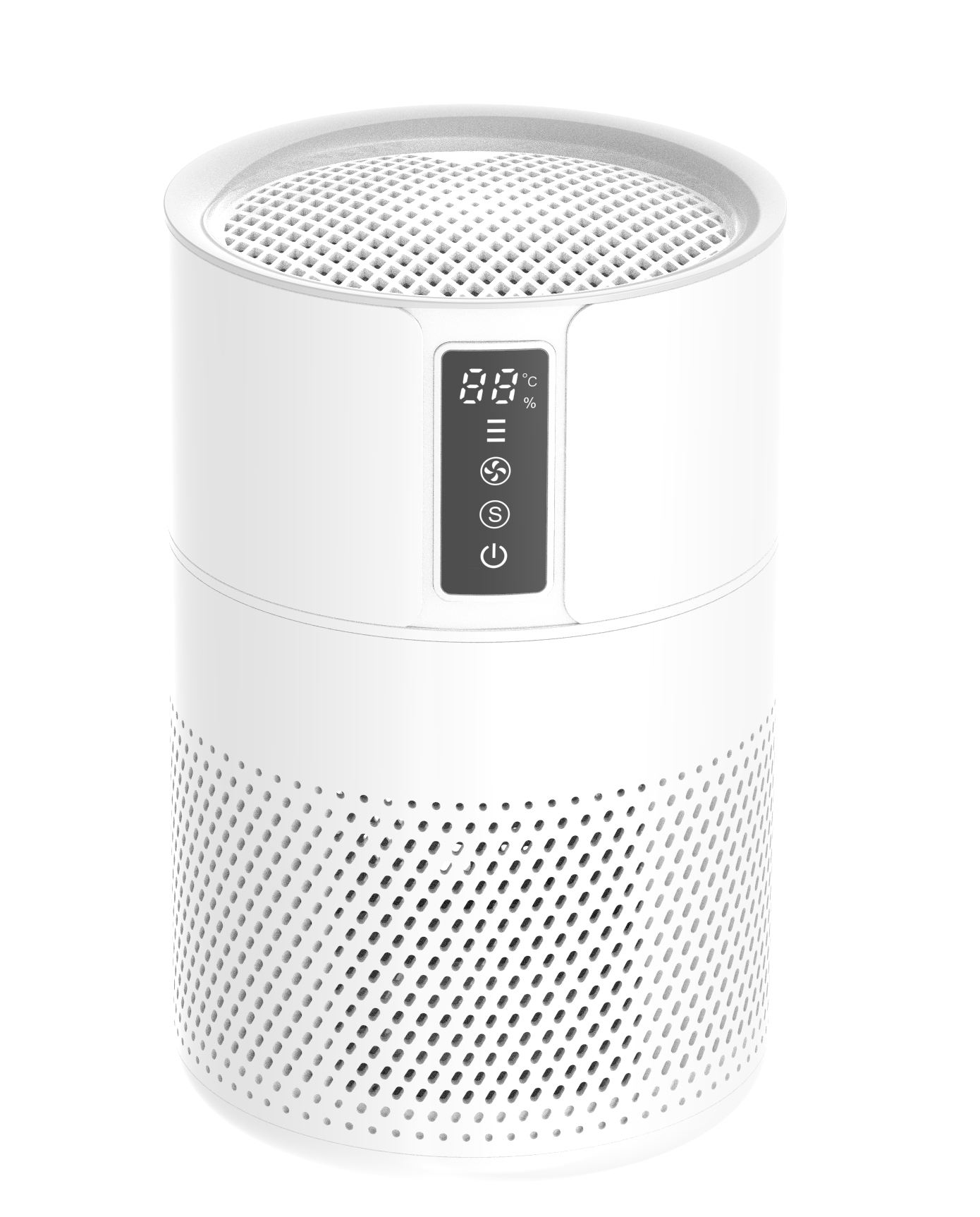 H13 HEPA filter air purifier with DC motor and air quality sensor