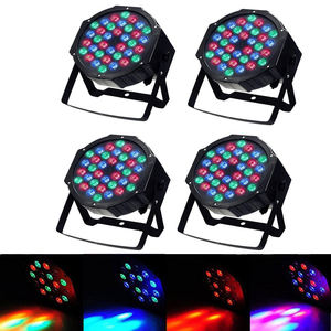 guangzhou 36 X 1W Remote Control RGB Sound Activated dj mini par Led Stage Lighting