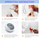 Nebulizer Compressor Nebulizer 2020 Best New Environmentally ABS Material Portable Home Use Quiet Piston Air Compressor Micro Nebulizer Machine