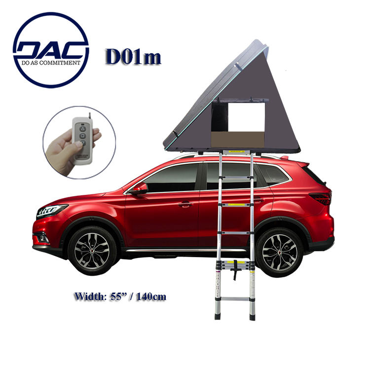 DAC D01M camping trailer hard shell roof top tent for SUV