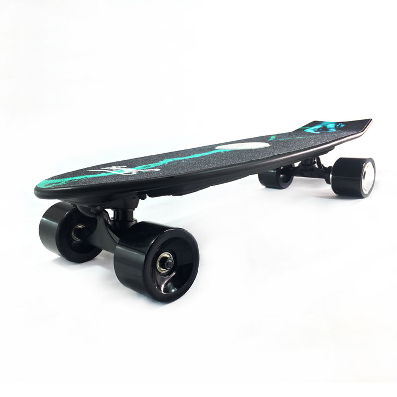 Wholesale small fish plate boosted electric skate board Auto skateboard Electric skateboard