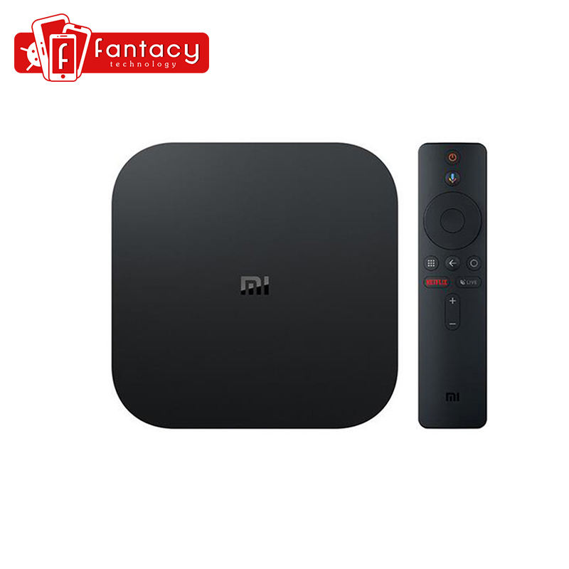 Globale Versione Xiaomi Mi TV Box S 4K HDR Android TV 8.1 Ultra HD 2G 8G WIFI google Cast Netflix IPTV Set top Box 4 Lettore Multimediale