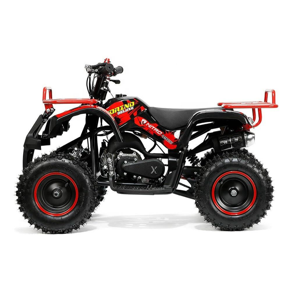 Tao Motor Bull 50 CE 2 Stroke 50cc Mini Moto Quad Bike 49ccミニハンターQuad 49cc Pocket ATV Off Road子供のための