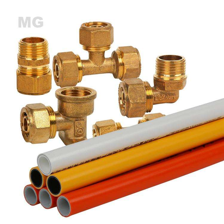 Hot sale Multilayer pert al pert pipe 16mm 20mm 25mm 32mm Composite Pipe and fitting price list
