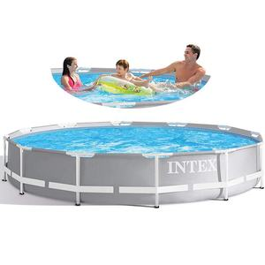 INTEX 26702 Above Ground Steel Pool for Swimming Pool Garden Frame Pool