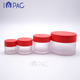 Empty Jar Cream Round Empty Plastic Matte Cosmetic Jar With Lid For Face Primer Cream 30g