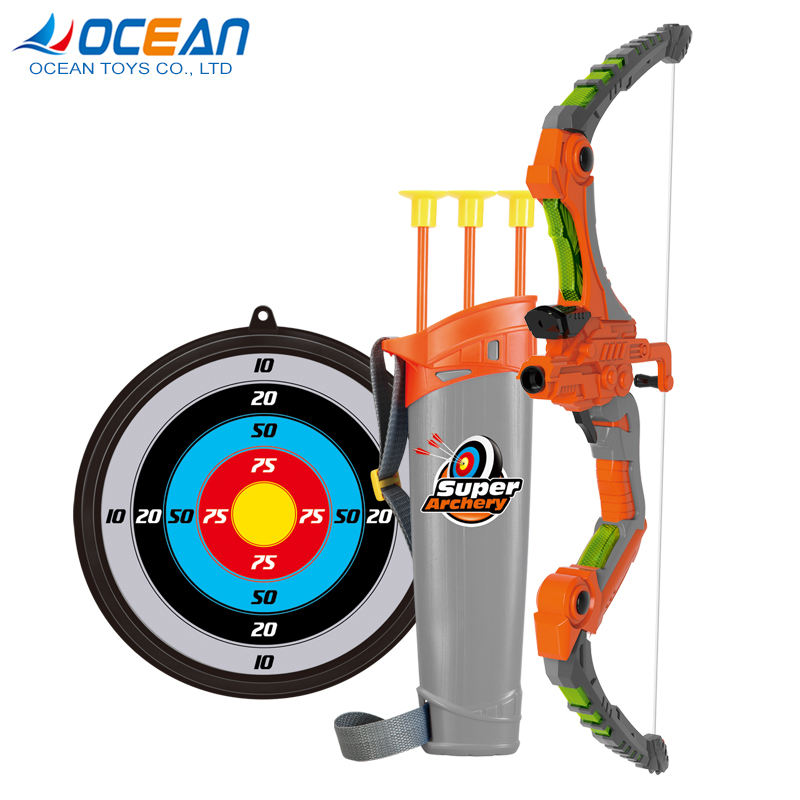 Shooting recurve bow and arrows targets games traditional bow archery