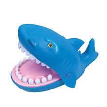 Family funny press tooth toys shark bite finger game for 2-4 players
