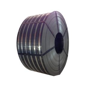 Black Annealed Steel Metal Strapping Iron Sheet Packing Strip Steel For Warehouse
