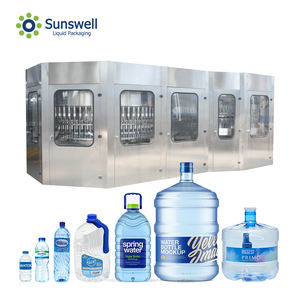 Fully Automatic Mineral Water Plant/Water Bottling Machine For Pure And Mineral Water