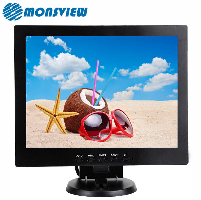 High Resolution 1024*768 12 Inch Square Display LCD Computer Monitor for POS System