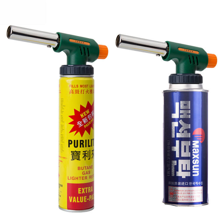High welding capacity camping flame gun butane burner gas welding torch