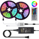 Amazon Best Sell IP65 16.4ft DIY Backlight 150LEDs 300LEDs 44 key Remote Control 5m RGB LED Strip 5050