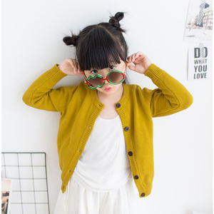 2019 fashion comfortable thin children's cardigan clothes spring and autumn baby girls boys sweater