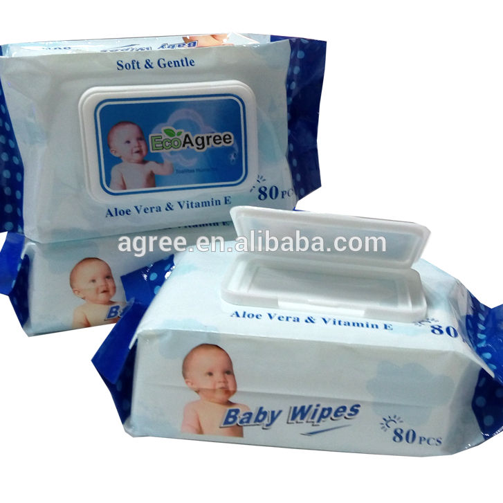 Baby purified Wipes OEM Disposable Wet Towel For Cleaning