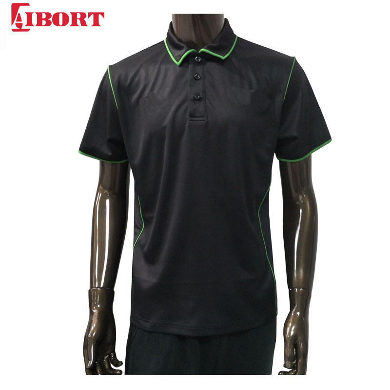 High Quality sublimated Cool Dry with pipings Polo shirts