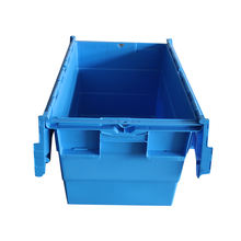600*400*365mm Industrial Plastic Storage Box