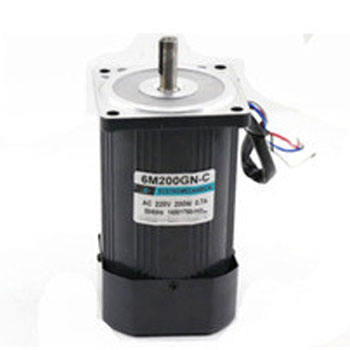 6M200GN-CC 220V AC High Speed Motor 200W Optical Axis 1400 rpm Speed Control Micro InductIve Low Noise Engine