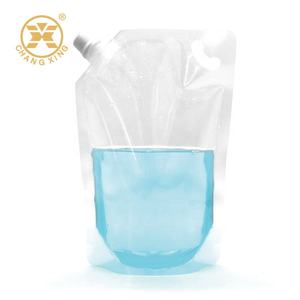 250ml/500ml/1000ml Plastic olive oil packaging bag with spout
