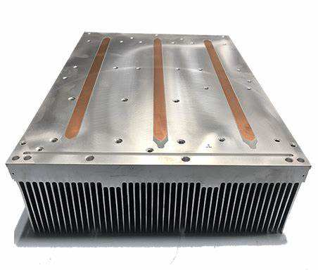 Professional IGBT aluminium copper heat pipe heat sink extrusion