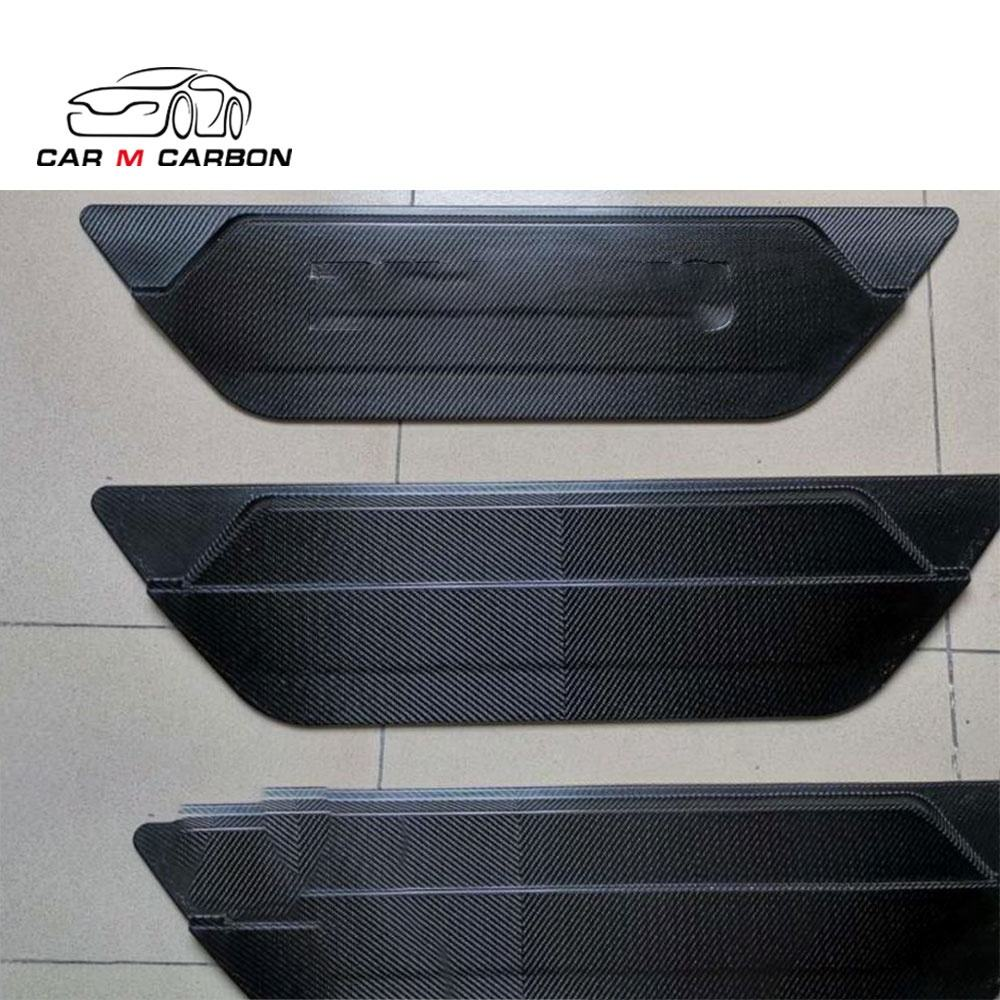 Spare Tire Mount Holes dry Carbon Fiber Cover for G63 AMG G500 G Wagon W463A W464 2019 2020