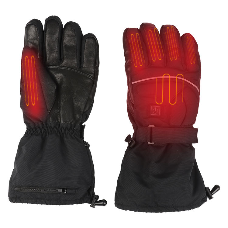 Rechargeable Battery USB Heated Sport Gloves For Motorcycle Hunting Skiing