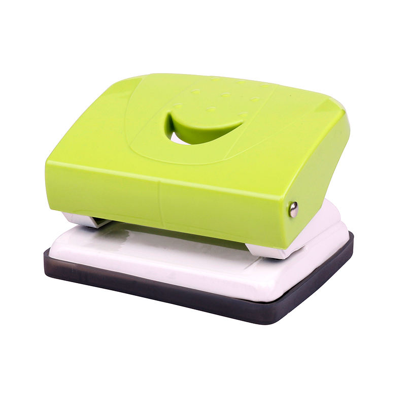 wholesale custom supply high quality rectangular office manual metal paper hole puncher punch