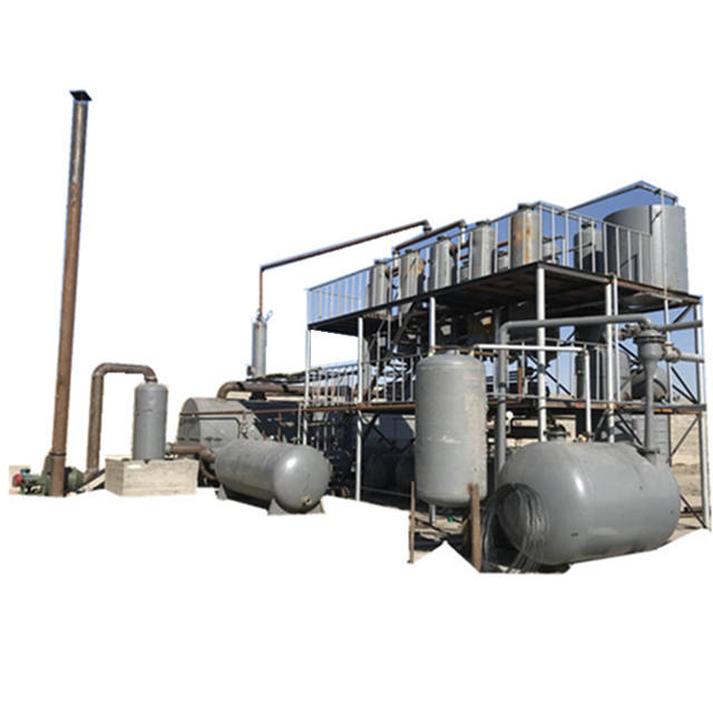 waste oil recycling plant based petroleum industry