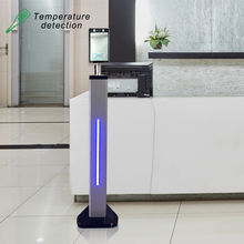 facial recognition biometric checking machine camera temperature body thermal scanner