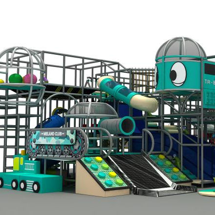Playing Area High Quality Children Playhouses Indoor kids slide soft play Kids game play center
