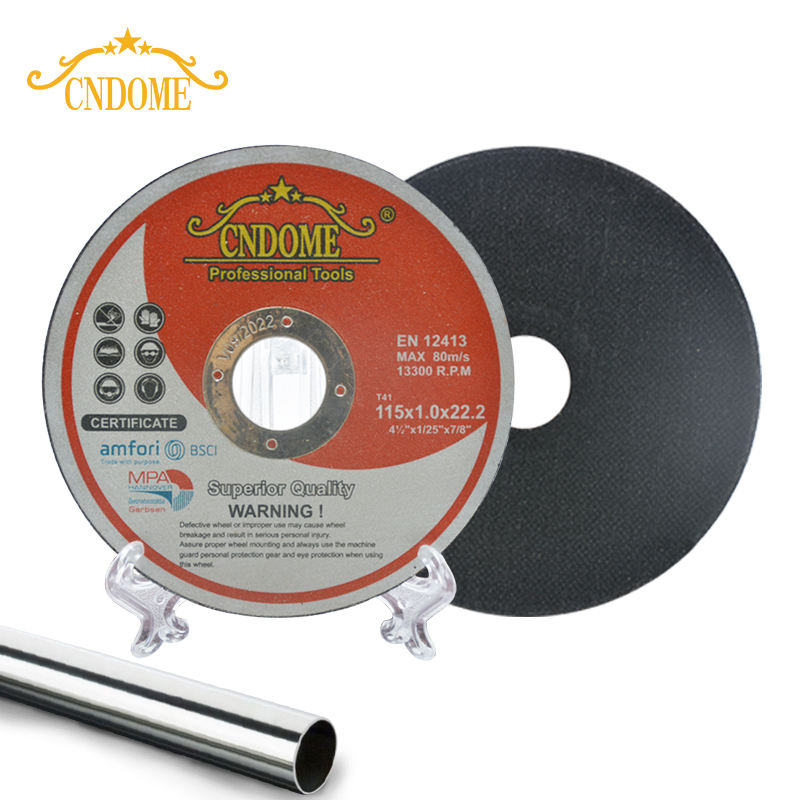 115*1 OEM high quality factory price metal stainless steel cutting disc