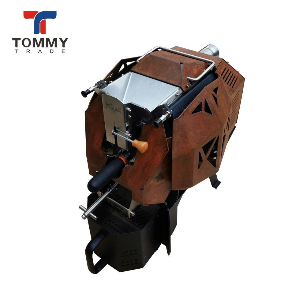 Cheap Cool Black and White Coffee Roaster Machine Made in Chinese Company