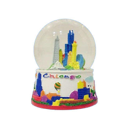 Skyline New York City Snow Globe Souvenir