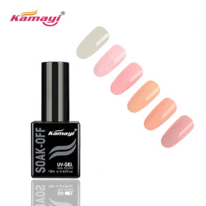 Kamayi Hot Sale Colorful Nail Gel Polish High Quality Semi Permanent Gel Varnish Nail Art Soak Off Rainbow Glitter Gel Nail