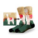 KANGYI no MOQ sublimation blank socks custom your own polyester white crew digital print socks