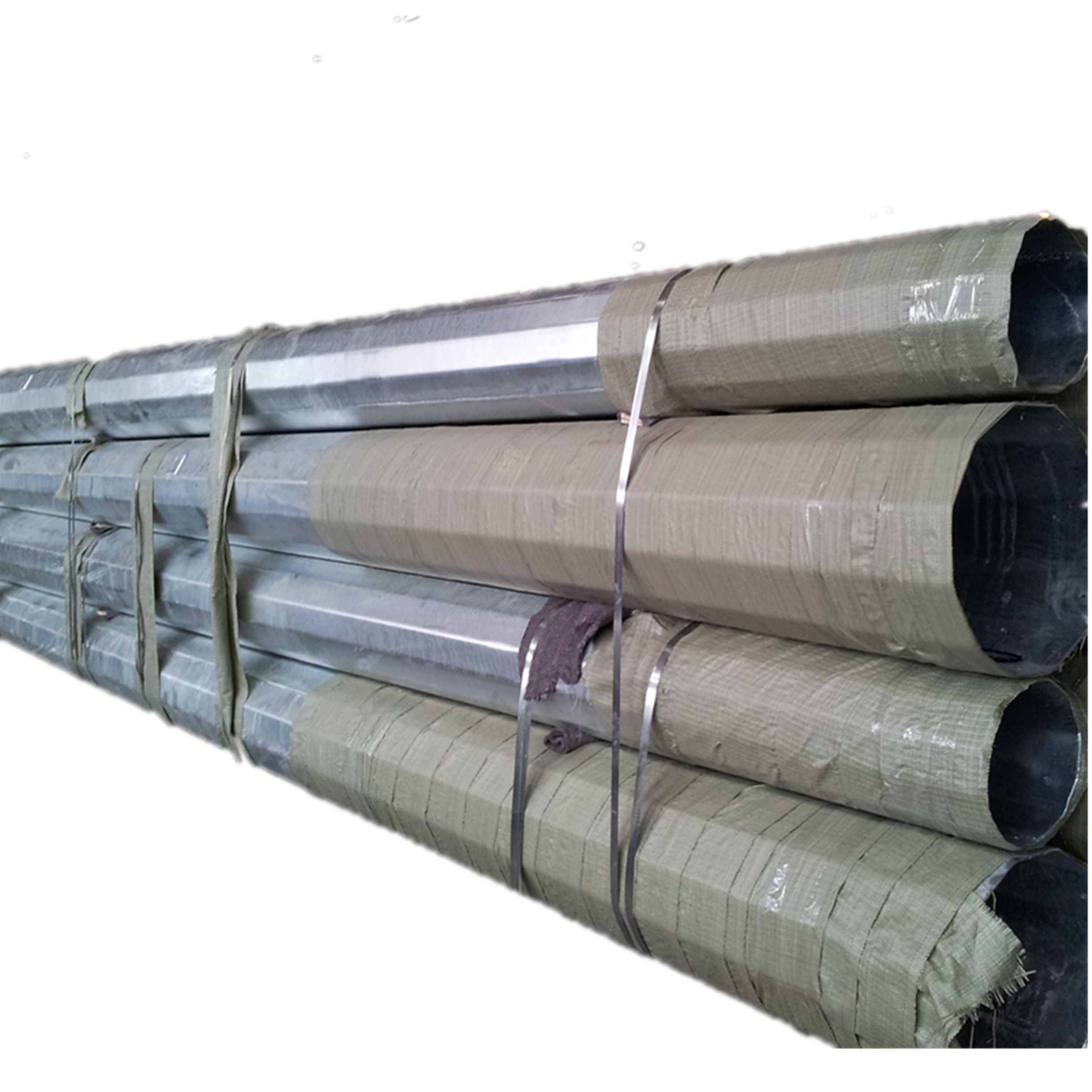 69KV Q345 NEA Standard Galvanized Electrical Steel Poles for sale