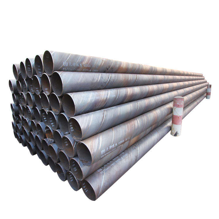 API 5L x42 x52 x56 x60 x70 ssaw spiral steel pipe piles, large diameter carbon ms spiral welded steel pipe for water oil and gas