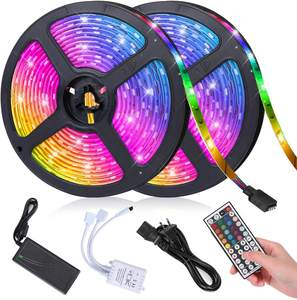 5050 RGB tira Led 300led 72W impermeable DC12V TV Led Luz