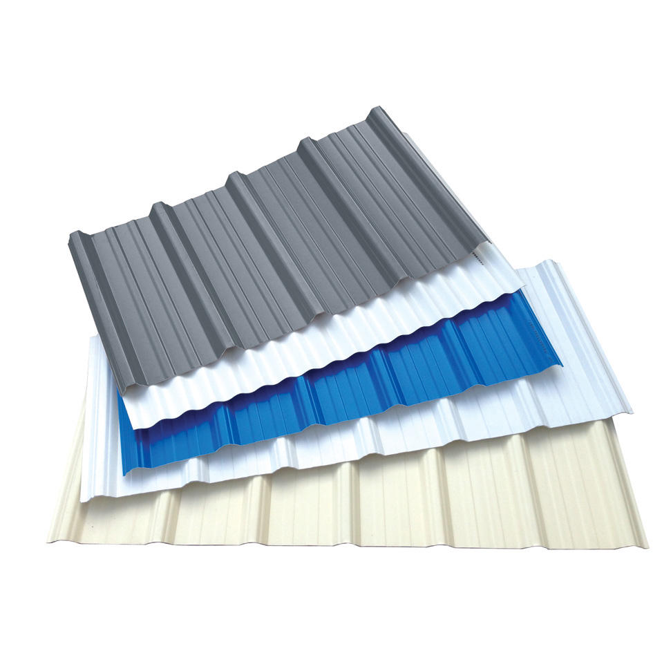High quality Heat insulation roof material UPVC roofing tile / wall panel