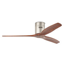 2020 Made In China Wood Blades Dc Ceiling Fan Low Power Consumption Solid Wood Ceiling Fan