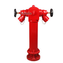 BS750 Pillar Fire Hydrant Price With DN100